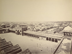 General view of the city, Delhi.